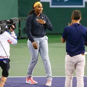Serena Williams forfait… mais soulagée