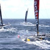 Brest Atlantiques : La course (à la 2e place) en direct