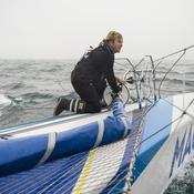 Après avoir vu un iceberg, François Gabart affole les compteurs au Cap Horn