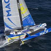 Gabart, le marin solitaire plus rapide que les équipages autour du monde