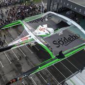 Coville dévoile un maxi-trimaran inédit avec cockpit à l'avant
