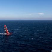 Le «Menhir» Joyon s'offre un nouveau record surprise en Atlantique