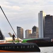 Traversée de l'Atlantique: Coville bat le record de Joyon ... datant de 3 jours