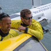 Ultim : Cammas et Caudrelier qualifiés pour le demi-tour du monde Brest Atlantiques
