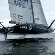 Coupe de l'America : American Magic dévoile les premières images de son monocoque volant