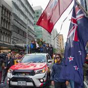 Liesse populaire pour le retour de la Coupe de l'America en Nouvelle-Zélande