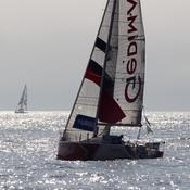 Solitaire Urgo Le Figaro : L'éclatement de la flotte dans le golfe