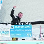 Solitaire Urgo Le Figaro (2e étape) : Adrien Hardy ou la victoire de l'audace
