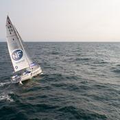 Solitaire Urgo Le Figaro : En l'absence du vent