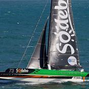 Transat Jacques Vabre : Sodebo prend le pouvoir, Drekan Groupe chavire