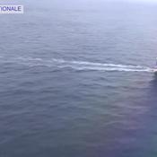 Quand la Marine Nationale survole Le Cléac'h et Thomson