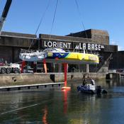 Rebaptisé et relooké, le bateau vainqueur du Vendée Globe entame sa deuxième vie