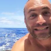 Vendée Globe : Fabrice Amédéo transforme son bateau en dancefloor