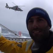 Vendée Globe : la Marine nationale accueille Armel Le Cléac'h aux Kerguelen