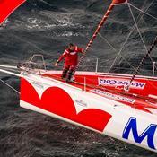 Vendée Globe : Le podium se rapproche très lentement pour Beyou