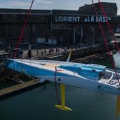 Vendée Globe 2020 : L'Imoca de Thomas Ruyant mis à l'eau