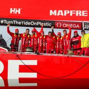 Volvo Ocean Race : La «remontada» pour Mapfre, la soupe à la grimace pour Dongfeng