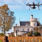 Un drone dans les vignes pour limiter les pesticides