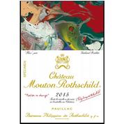 Gerhard Richter donne des couleurs au château Mouton Rothschild 2015