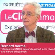 Club Immo Bernard Vorms, président CNTGI, auteur du rapport sur la révolution numérique et le marché du logement