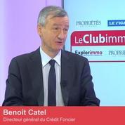 Club Immo Benoît Catel, directeur général du Crédit Foncier