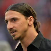 Zlatan Ibrahimovic face à Sébastien Chabal chez les Enfoirés