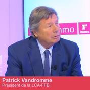Club Immo Patrick Vandromme, président de la LCA-FFB