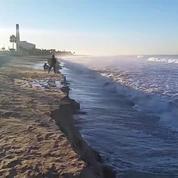 Californie : une plage entière emportée par les eaux