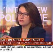 Cécile Duflot : «Mélenchon a évolué»