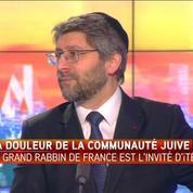 La seule solution, c'est d'être unis, pour le grand rabbin de France