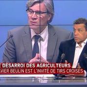 Xavier Beulin: les éleveurs ont le sentiment de ne plus avoir de ministre