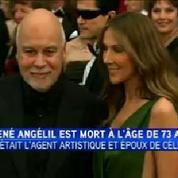 René Angélil, le mari et agent de Céline Dion, est décédé