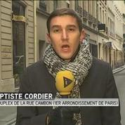 Incendie en cours dans l'hotel de luxe parisien le Ritz