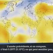 2015, année la plus chaude jamais enregistrée