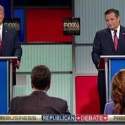 Débat Républicain : Accrochages musclés entre Trump et Cruz