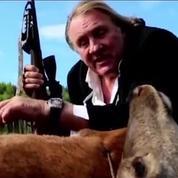 Gérard Depardieu « fume un cerf » pour une marque de montres suisses
