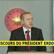 Erdogan : «C'est un kamikaze d'origine syrienne derrière l'attentat»