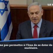 Nucléaire iranien : «Israël est prêt à faire face à toutes les menaces» déclare Nétanyahou