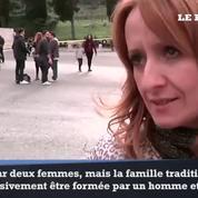 Rome: des milliers d'italiens manifestent contre le mariage pour tous