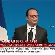 Attentats à Ouagadougou : « Une victime serait française » déclare François Hollande