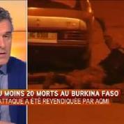 Attaque terroriste à Ouagadougou : au moins vingt morts