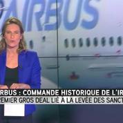 Airbus aurait décroché le plus gros contrat en Iran depuis la fin des sanctions