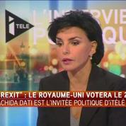 Rachida Dati : L'Europe, telle qu'elle est, ne marche pas.