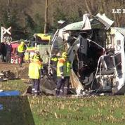 Accident de train au Pays-Bas : les premières images