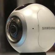 Mobile World Congress : Samsung dévoile la Gear 360, une caméra 360°