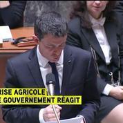 Les principales annonces de Manuel Valls pour résoudre la crise des agriculteurs