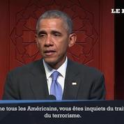 Première visite d'Obama dans une mosquée