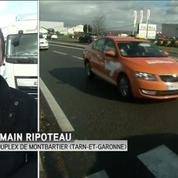 A Montauban, les chauffeurs de taxis se joignent aux agriculteurs
