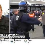 Calais : échauffourées entre les manifestants anti-migrants et les forces de l'ordre