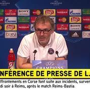 Laurent Blanc réagit à l'affaire Serge Aurier : «Je trouve cela pitoyable»